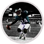 Philadelphia Eagles 5a Round Beach Towel