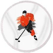 Philadelphia Flyers Player Shirt Round Beach Towel