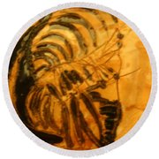 Philemon - Tile Round Beach Towel
