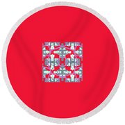 Pic20_coll1_07032018 Round Beach Towel