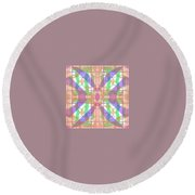 Pic7_coll1_15022018 Round Beach Towel