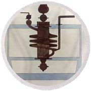 Picabia: Paroxyme, 1915 Round Beach Towel