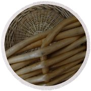 Picnic Basket Round Beach Towel
