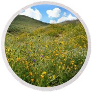 Picture Perfect Spring Round Beach Towel
