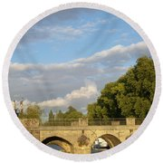 Picturesque Round Beach Towel