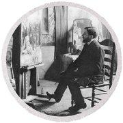 Piet Mondrian (1872-1944) Round Beach Towel