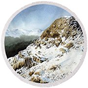 Pike O' Stickle Round Beach Towel