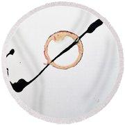 Pin Wheel Round Beach Towel