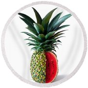 Pinemelon 2 Round Beach Towel