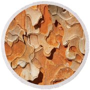 Pining For A Jig-saw Puzzle Round Beach Towel