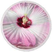 Pink Platter Round Beach Towel