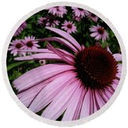 Pink Sweetie Round Beach Towel