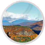 Pinkham Notch Round Beach Towel