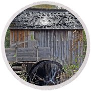 Pioneer Water Mill Round Beach Towel