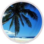 Pipeline Beach Round Beach Towel