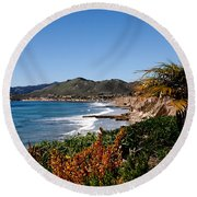Pismo Beach California Round Beach Towel