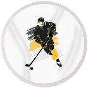 Pittsburgh Penguins Player Shirt Round Beach Towel