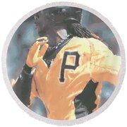 Pittsburgh Pirates Andrew Mccutchen Round Beach Towel