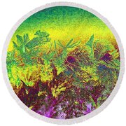Plantation Round Beach Towel
