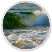 Playful Surf Round Beach Towel