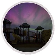 Playground Aurora Round Beach Towel
