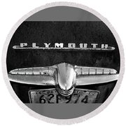 Plymouth 2 Round Beach Towel