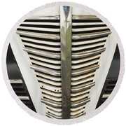 Plymouth Grille Round Beach Towel