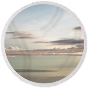 Point Possession Round Beach Towel