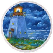 Pointe Bonaventure  Round Beach Towel