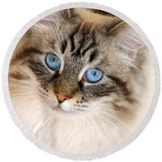 Polly Round Beach Towel