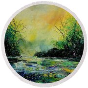 Pond 459060 Round Beach Towel