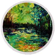 Pond 560120 Round Beach Towel