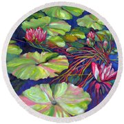Pond 8 Pond Series Round Beach Towel