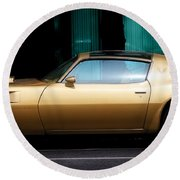 Pontiac Trans Am Round Beach Towel