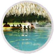 Pool Bar Round Beach Towel