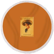 Poole Pianos Retro Round Beach Towel