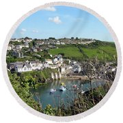 Port Isaac 1 Round Beach Towel