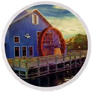 Port Orleans Riverside Round Beach Towel