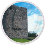 Portaferry Castle Round Beach Towel