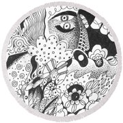 Portals Round Beach Towel