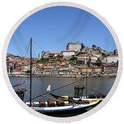 Porto 8 Round Beach Towel