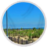 Posts Of The Sea Round Beach Towel