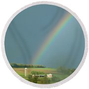 Pot Of Gold Round Beach Towel