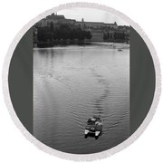 Prague IIi Round Beach Towel
