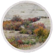 Prairie Beauty Round Beach Towel
