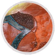 Prayer 17 - Tile Round Beach Towel