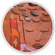 Prayer 31 - Tile Round Beach Towel