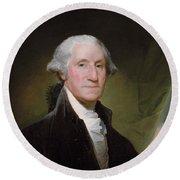 President George Washington Round Beach Towel