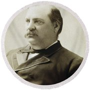 President Grover Cleveland Round Beach Towel