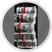 Presidents For Ransom Round Beach Towel